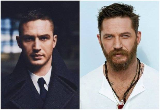 Ünlülerin sakallı ve sakalsız halleri 4