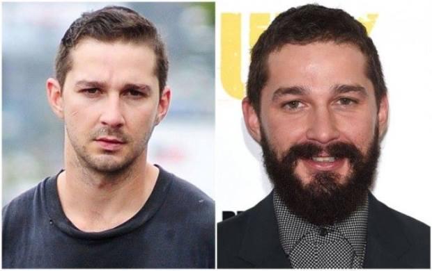 Ünlülerin sakallı ve sakalsız halleri 8
