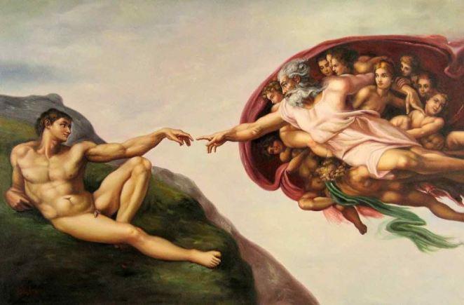 Adem'in Yaratılışı farkedilmeyen detay