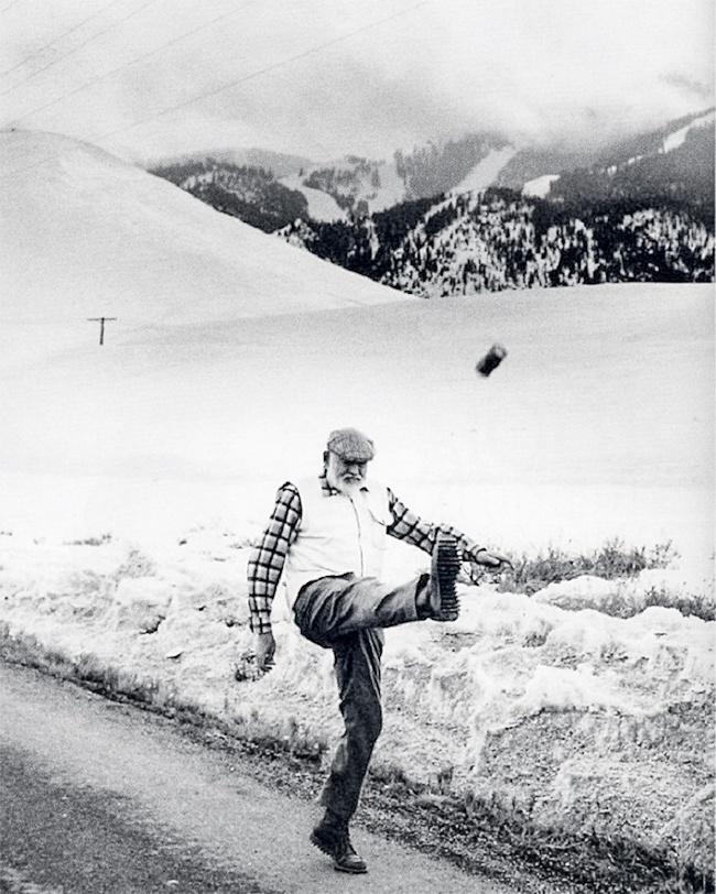 Ernest Hemingway 1959
