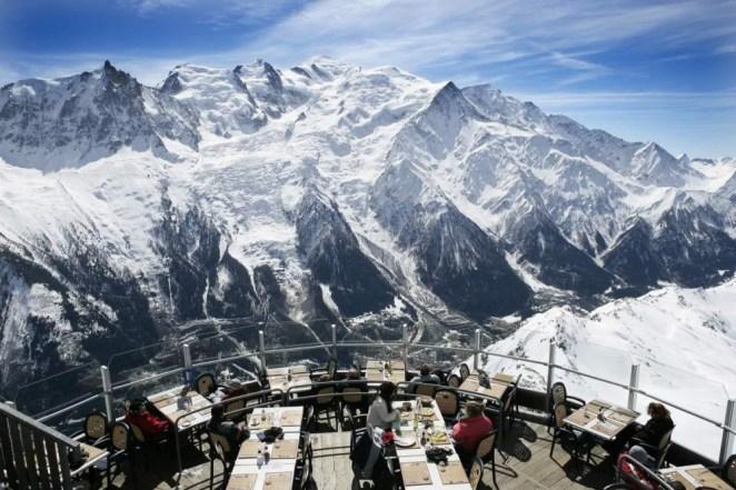 Restaurant Le Panoramic in Chamonix, France
