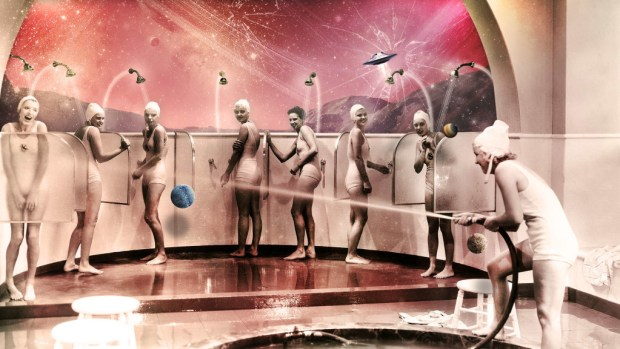 Shower In Mars