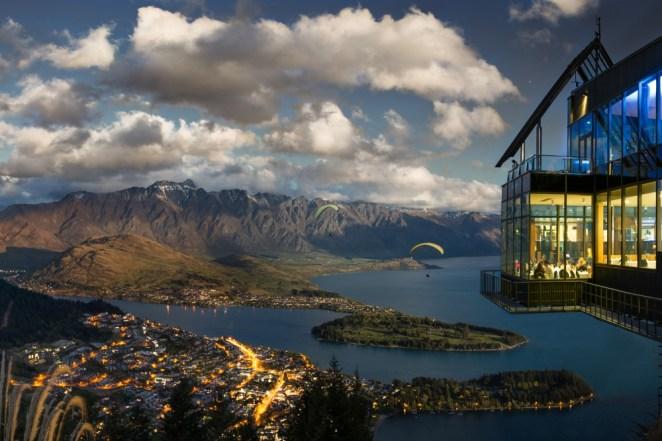 Skyline Restaurant in Queenstown, New Zealand