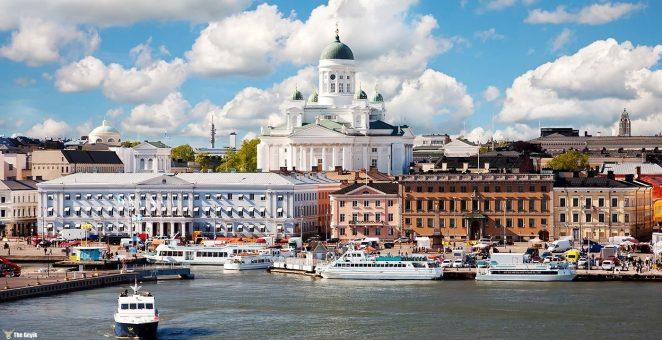 Helsinki, Finlandiya'nın nüfus bakımından en büyük şehri ve başkentidir.