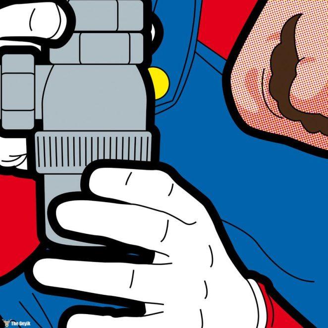 Süper Kahramanların Bize Gösterilmeyen Gizli Hayatı Greg Guillemin 23
