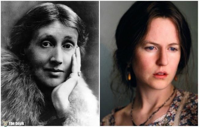 Virginia Woolf and Nicole Kidman
