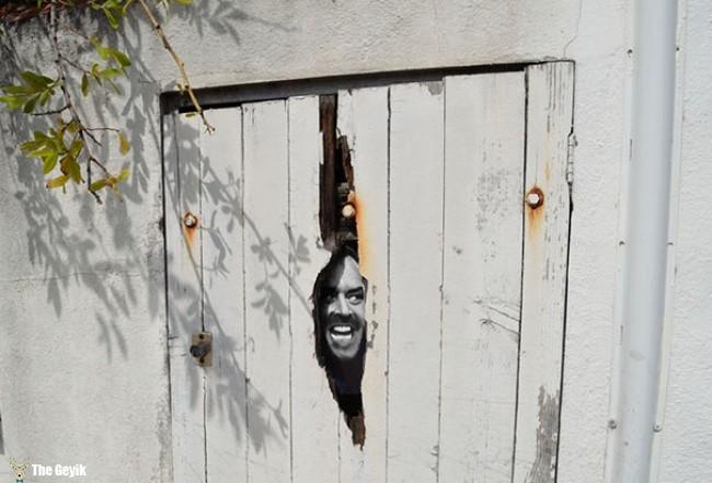 sokak sanatları sokağı canlandırma 16