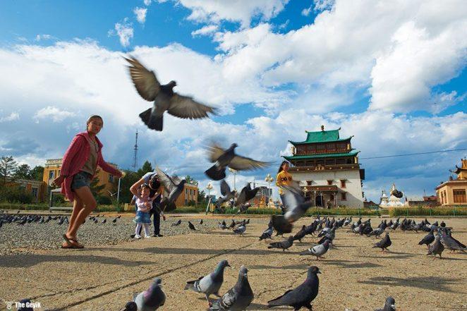 Ulan Batur, Moğolistan'ın başkenti ve en büyük şehridir.
