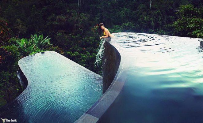 Hanging Gardens Ubud Hotel in Bali, Indonesia