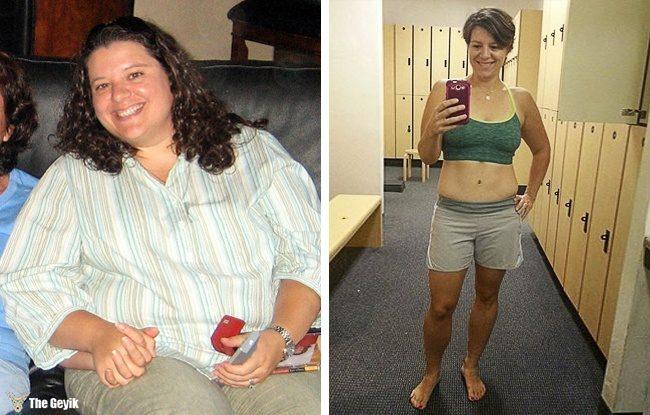 kilo veren insanlar oncesi sonrasi9