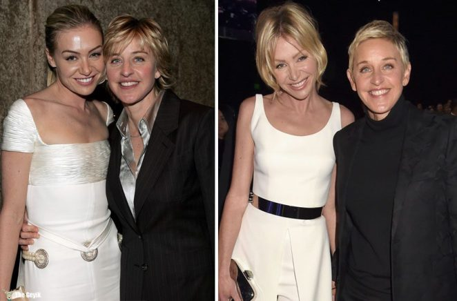 #10 Ellen Degeneres And Portia De Rossi - 12 Years Together