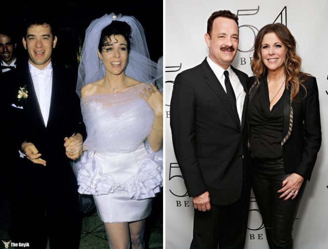 #3 Tom Hanks And Rita Wilson- 28 Years Together