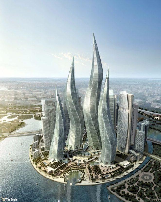 Dubai Towers — The Lagoons
