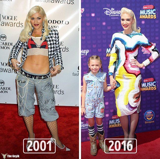Unlulerin 2000li yillarda giyindikleri10
