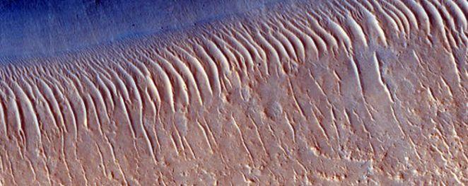 Edge Of Mesa Near Idaeus Fossae