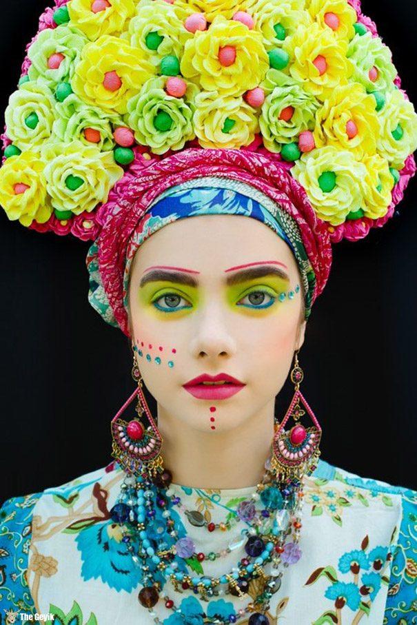 polonyalı sanatcı slav kültürel elbiseler 3