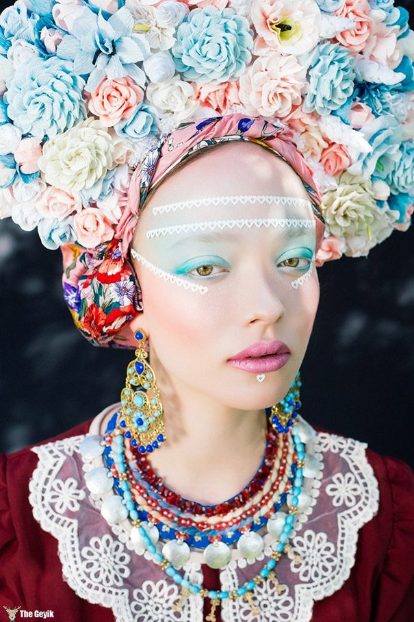 polonyalı sanatcı slav kültürel elbiseler 8
