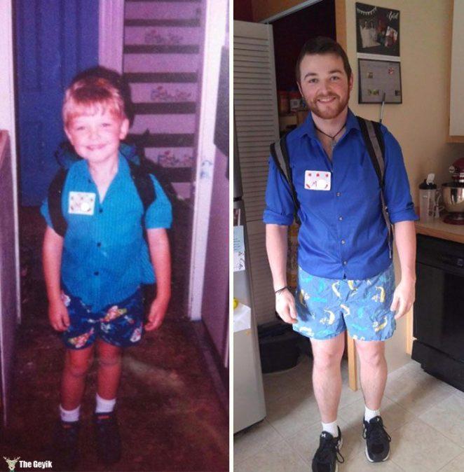 Okulun ilk günü ve son günü6