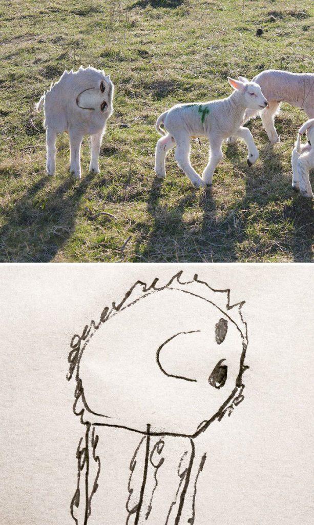 oglunun-cizdigi-hayvan-resimlerini-gercege-uyarlayan-babadan-komedi-resitali1