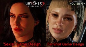 the witcher 3 sexist game design