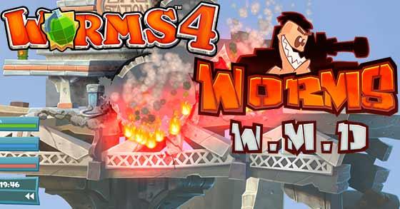Resultado de imagem para Worms W.M.D.