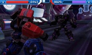 transformers rise of the dark spark fight