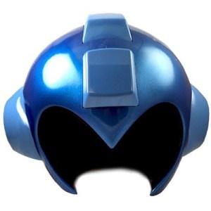 mega man helmet replica front
