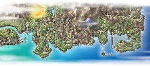the pokemon world