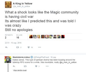 magic the gathering goes sjw