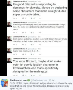 all gay characters should be ugly jonathan mcintosh