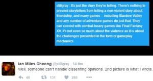 ian miles cheong vs jonathan mcintosh part 1