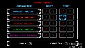 shovel knights body swap