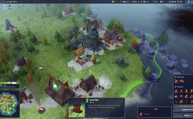 Northgard Pc Preview Rts City Builder Tgg