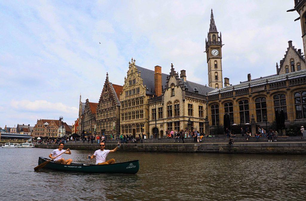 Kano in Gent voor levering gin