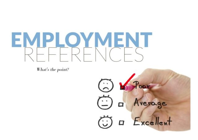 employment references what s the point the gibraltar magazine