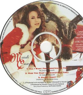so what do white christmas and all i want for christmas is you have in common well for starters they both have christmas in the title - All I Want For Christmas Is You Original Artist