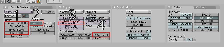 parametersnumbered