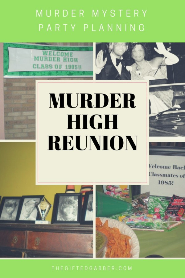 Murder High Reunion - Murder Mystery Party - Back to the 80s