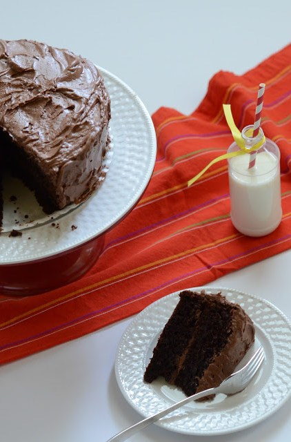 Semi-Homemade Chocolate Cake - The Gifted Gabber