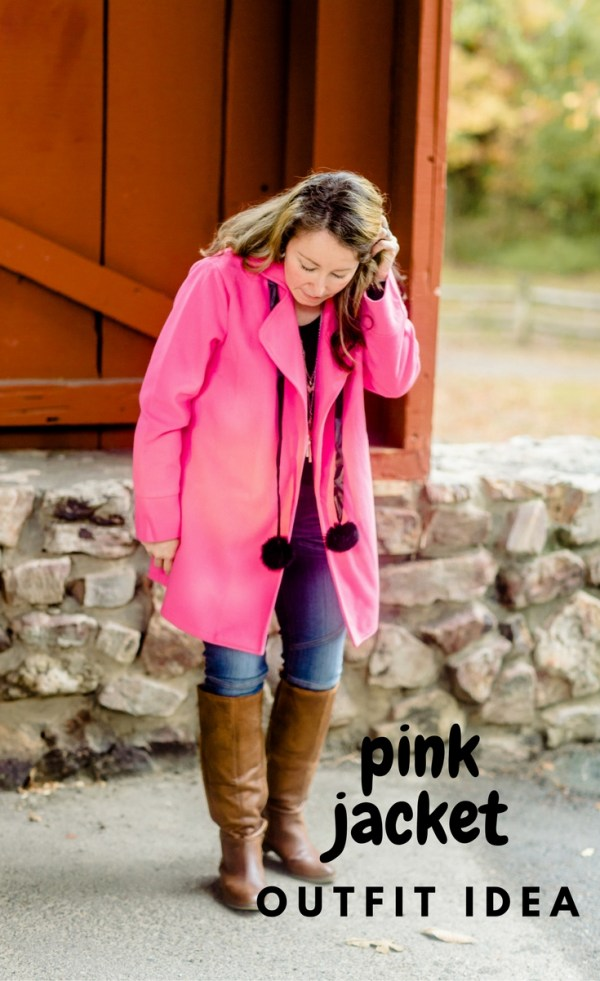 This soft pink jacket is sure to bring cheer to the dreariest of days. - Pink Coat - Winter Jacket - Jacket Style - Jacket Fashion - Mommy-and-Me Style - Baby Style - Winter Style - Fleece Jacket - The Gifted Gabber