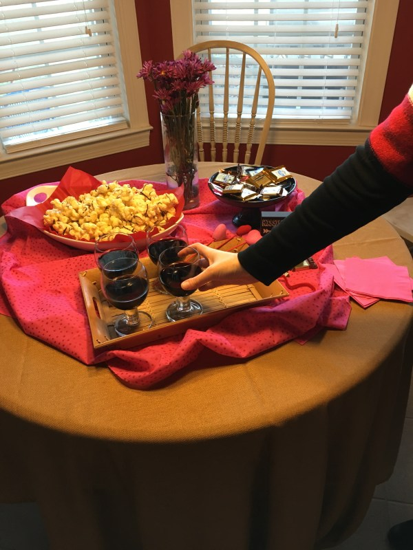 Wine and Chocolate Galentine's Party