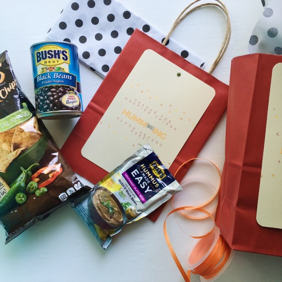 Hummus Gift Idea and Free Printable - The Gifted Gabber