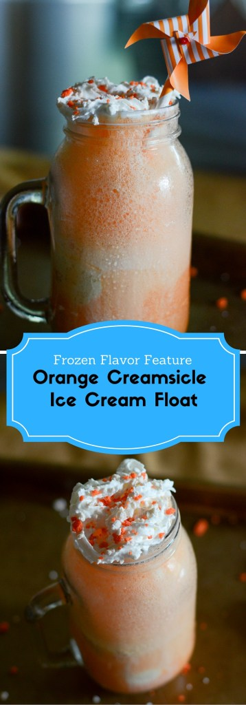Orange Creamsicle Ice Cream Float - The Gifted Gabber