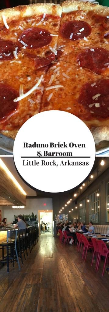 Raduno Brick Oven & Barroom - Little Rock, Arkansas - The Gifted Gabber