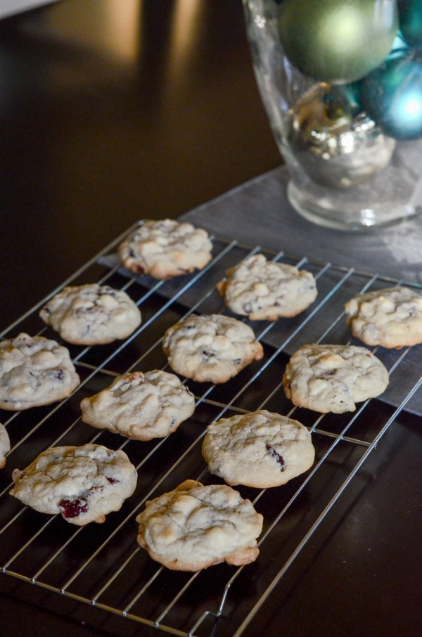 White Chocolate Cranberry Pecan Cookies - Cooking with Kids - The Gifted Gabber