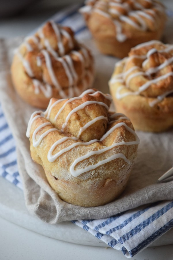 Cinnamon Roll Muffins - The Gifted Gabber