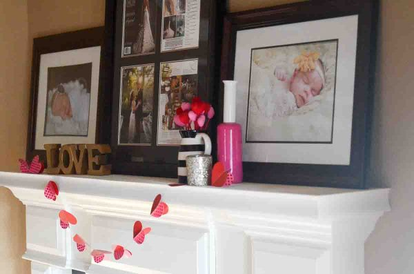 Valentine's Home Tour - Budget Friendly Decor Ideas - The Gifted Gabber