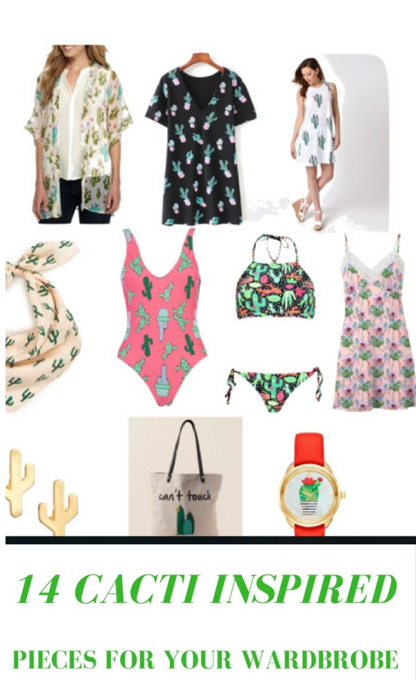 14 Cacti Inspired Pieces for Your Wardrobe - Cacti - Cactus - Summer Wardrobe - The Gifted Gabber