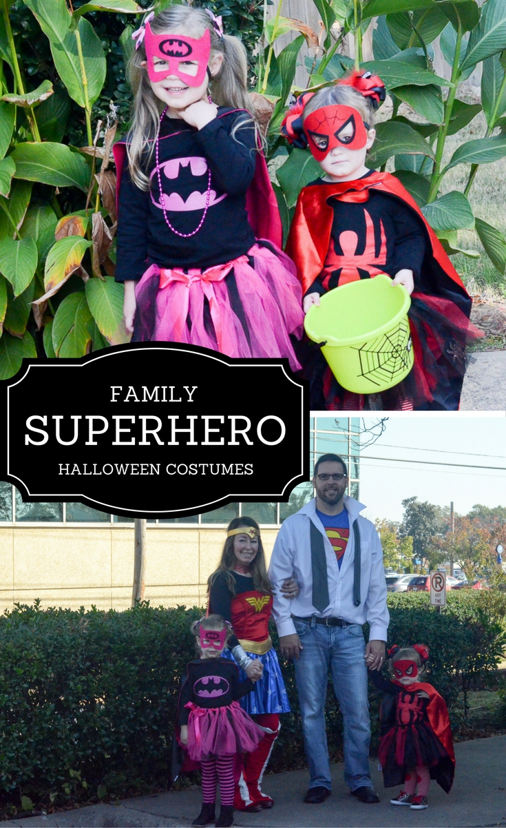 Family Superhero Halloween Costumes - Family Halloween Costumes - Superhero Halloween Costumes for Families - Halloween  sc 1 st  The Gifted Gabber & Family Superhero - Halloween Costumes