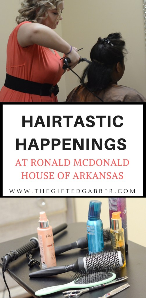 Hairtastic Happenings at Ronald McDonald House of Central Arkansas - #rmhc #charities The Ronald McDonald House of Central Arkansas is doing wonderful things! - The Gifted Gabber